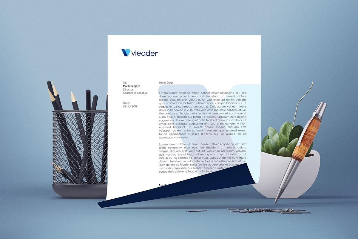 vleader letterhead
