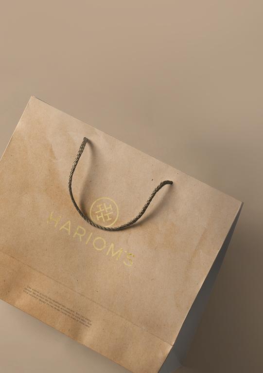 harioms paper bag